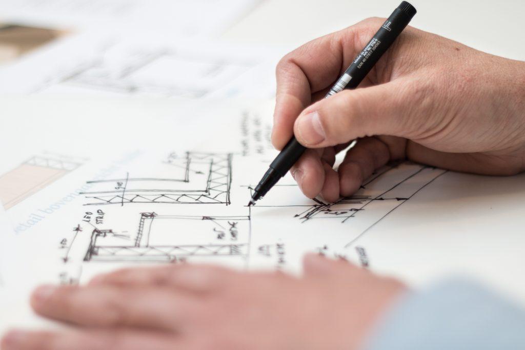 Planung und Ausmessen